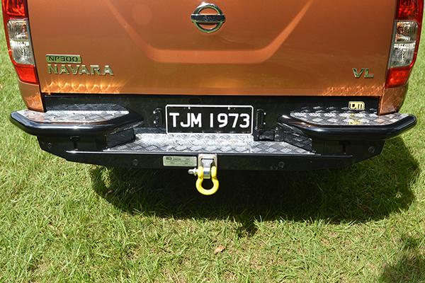 Rear Step Tow Bar RB6