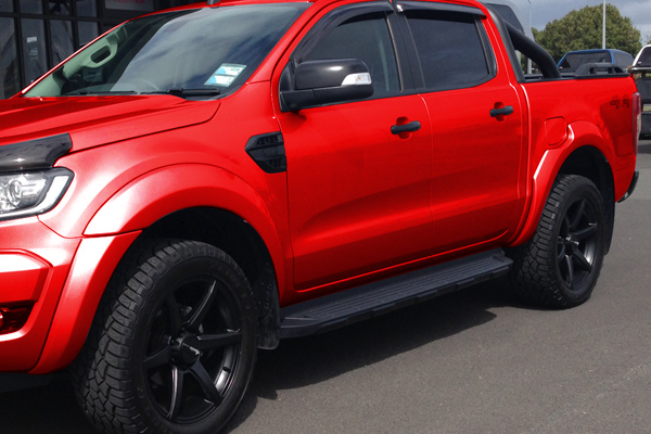 Flush Style Flares Race Red Fully Equipped