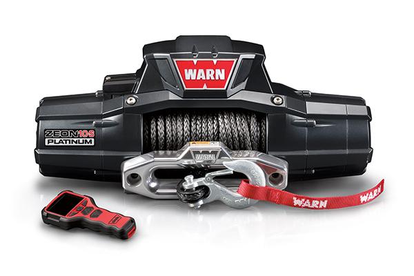Warn Zeon Platinum 12,000 Steel Rope